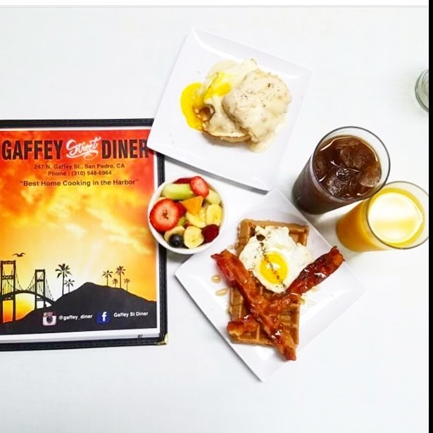 New menu at Gaffey St. Diner